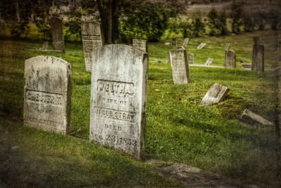 The Old Burial Ground Poster by Joan Carroll