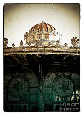 The Old Carousel House Poster by Colleen Kammerer