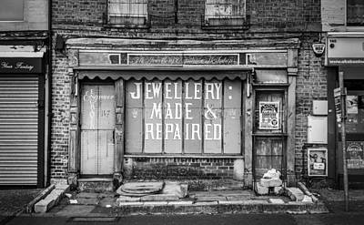 The Old Jewellers Poster by Gary Gillette
