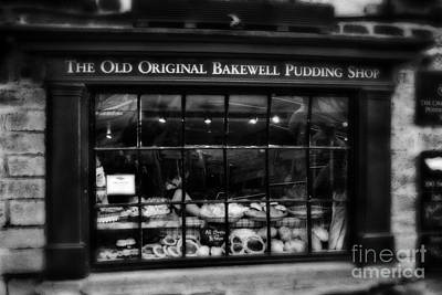 The Old Original Bakewell Pudding Shop Poster by Doc Braham