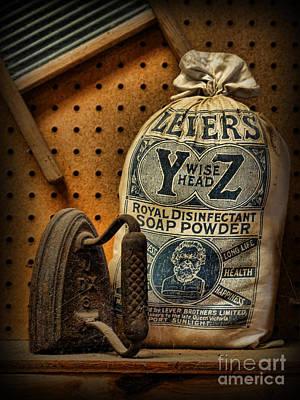 The Original Laundromat - Self-service Soap Powder Poster by Lee Dos Santos