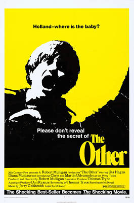 The Other, Us Poster, 1972, Tm & Poster by Everett