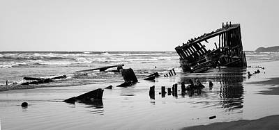 The Peter Iredale Poster by Betty Depee