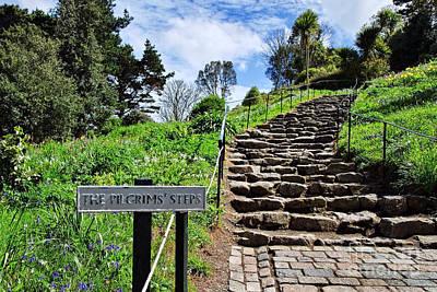 The Pilgrims' Steps Poster by Susie Peek