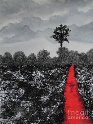 The Poison Stream Poster by Stanza Widen