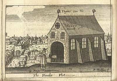 The Powder Plot Poster by British Library
