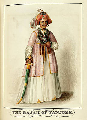 The Rajah Of Tanjore Poster by British Library