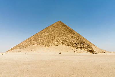 The Red Pyramid (senefru Or Snefru Poster by Nico Tondini