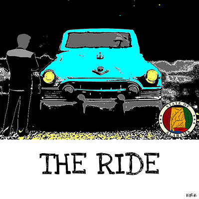 The Ride Poster by Jacob Kirk