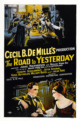 The Road To Yesterday, Us Poster Poster by Everett