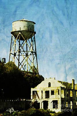 The Rock Alcatraz Island 1 Of 4 Poster by Jani Bryson