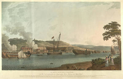 The Royal Dockyard At Chatham Poster by British Library