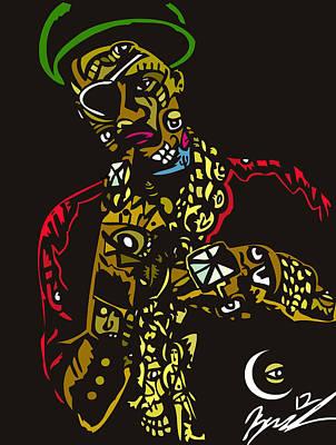 The Ruler Poster by Kamoni Khem