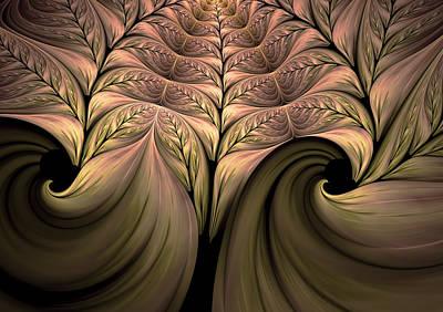 The Secret World Of Plants Abstract Poster by Georgiana Romanovna