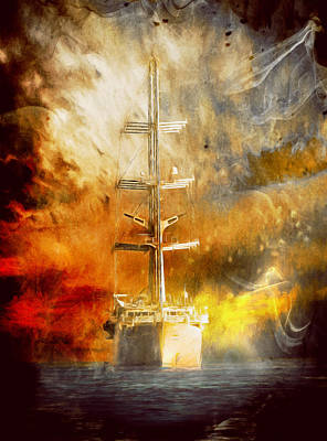 The Ship That Came Home Poster by Georgiana Romanovna