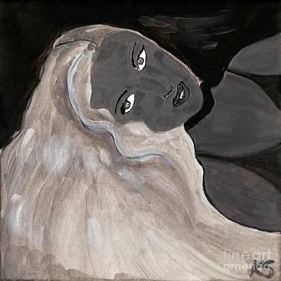 The Siren II Poster by Katy  Scott