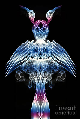 The Smoke Angel Poster by Steve Purnell