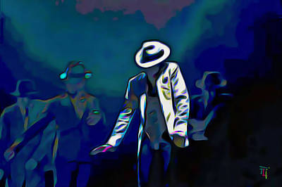 The Smooth Criminal Poster by  Fli Art