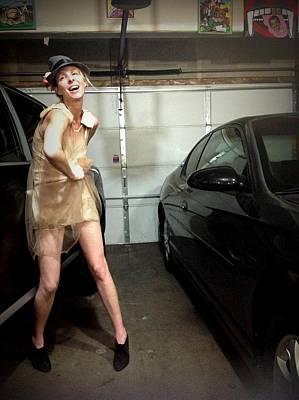 The Sneaky Dress 3 Poster by Lisa Piper Menkin Stegeman
