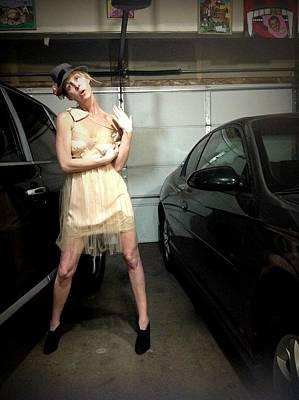 The Sneaky Dress 4 Poster by Lisa Piper Menkin Stegeman
