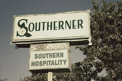 The Southerner Poster by Brandon Addis