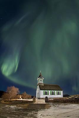 The Spirit Of Iceland Poster by Evelina Kremsdorf
