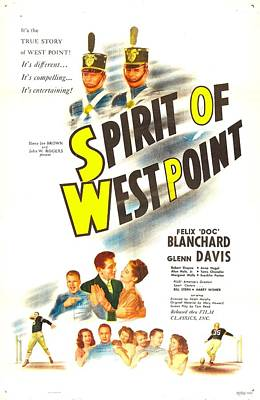 The Spirit Of West Point, Us Poster Poster by Everett
