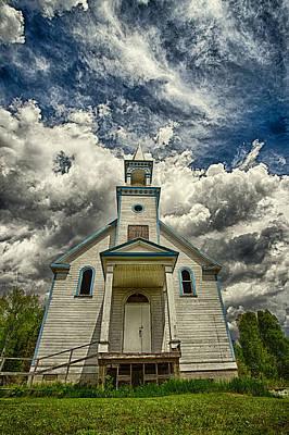 The Squaw Bay Church Poster by Jakub Sisak