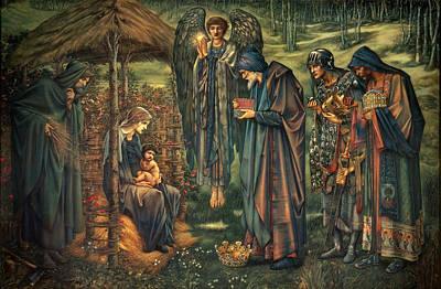 The Star Of Bethlehem Poster by Edward Burne-Jones