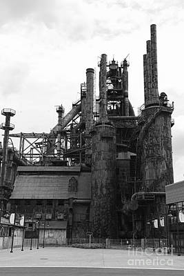 The Steel Stacks Poster by Paul Ward
