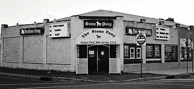 The Stone Pony Asbury Park New Jersey Poster by Terry DeLuco