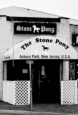 The Stone Pony Asbury Park Nj Poster by Terry DeLuco