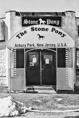 The Stone Pony Poster by Paul Ward