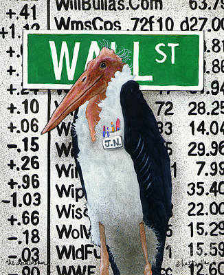 The Storkbroker... Poster by Will Bullas