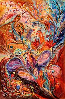 The Story Of Wild Iris Poster by Elena Kotliarker