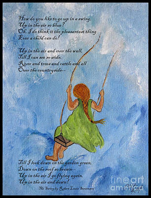 The Swing Poster by Ella Kaye Dickey