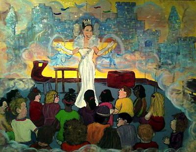 the teachings of Aroura Poster by Richard  Hubal