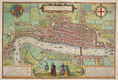 The Thames Poster by British Library