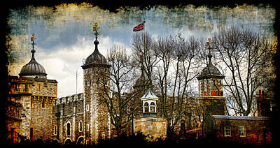 The Tower Of London Poster by Joanna Madloch