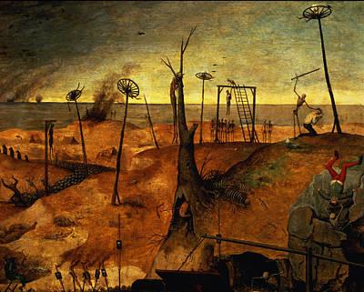 The Triumph Of Death Poster by Pieter the Elder Bruegel