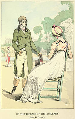 The Tuileries Poster by British Library
