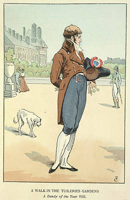 The Tuileries Gardens Poster by British Library