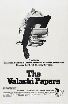 The Valachi Papers, Us Poster Art, 1972 Poster by Everett