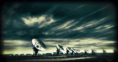 The Very Large Array Observatory Poster by Dan Sproul