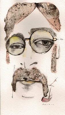 The Walrus As John Lennon Poster by Mark M  Mellon