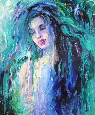 The Water Poster by Nelya Shenklyarska