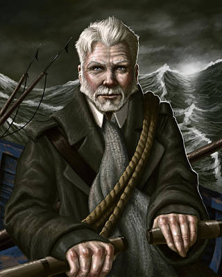 The Whaler Poster by Mark Zelmer