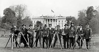 The White House Photographers Poster by Jon Neidert