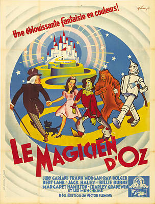The Wizard Of Oz - 1939 Poster by Georgia Fowler