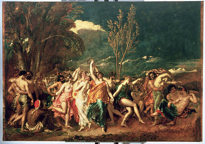 The World Before The Flood Poster by William Etty